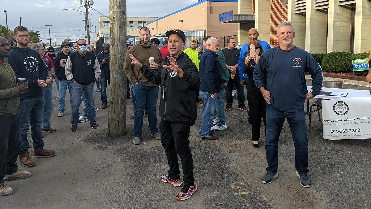 Labor Walks October 9, 2021