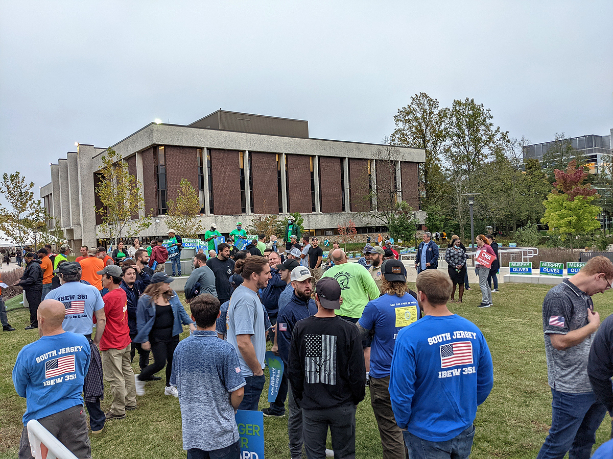 Rally to Support Governor Murphy